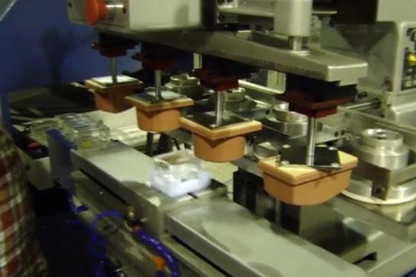 چاپ ظرف شیشهای