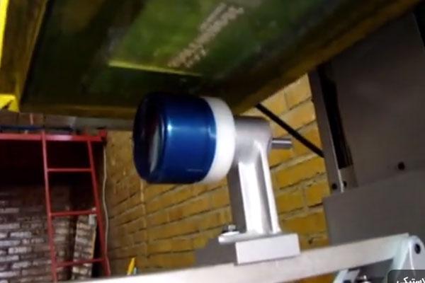 چاپ ظرف گرد پلاستیکی