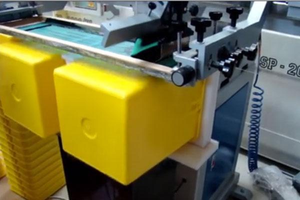 چاپ مسطح ظرف بزرگ پلاستیکی