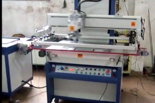 چاپ مسطح فول اتومات شیشه