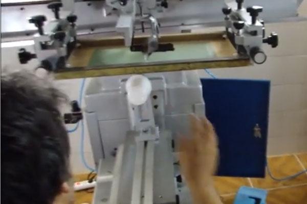 چاپ مدور لیوان یکبار مصرف