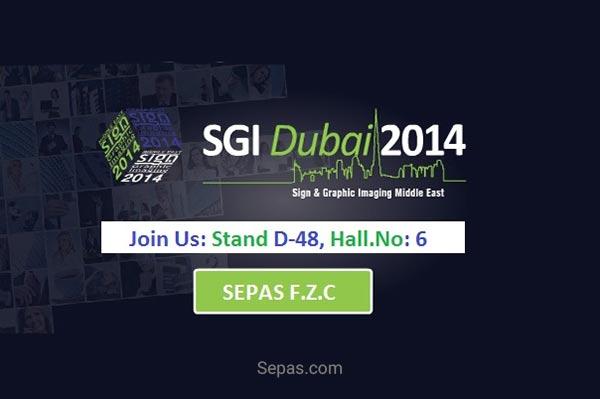 سپارس در نمایشگاه SGI دوبی